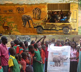 Creating Elephant Ambassadors (Mobile Education)